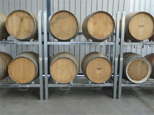 CBR Wine Barrel Rack