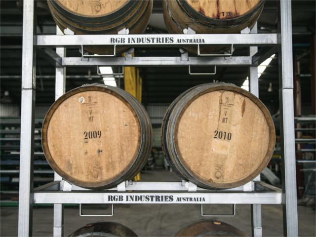 Wine Barrel Racks